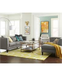 Braylei 88 Track Arm Sofa With 3 Toss Pillows Created For Macy S