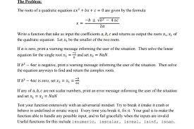 the roots of a quadratic equation ax 2 bx c
