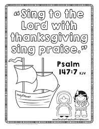 Thanksgiving Bible Printables Crafts Christian Preschool Printables
