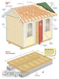 shed floor plans. Figures A And B Shed Floor Plans