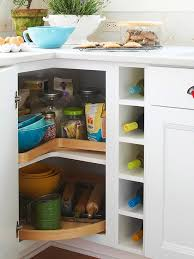 Cutting Kitchen Cabinets Delectable How To Deal With The Blind Corner Kitchen Cabinet Live Simply By Annie