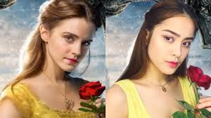 beauty and the beast emma watson inspired makeup tutorial