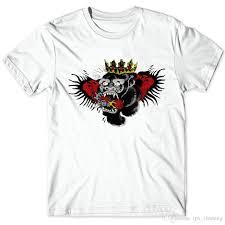 орангутанг татуировки футболка конор макгрегор корона крыло с коротким рукавом