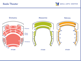 Mesa Ikeda Theater Seating Chart Phx Stages Seating Charts