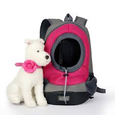 Nylon <b>Portable</b> Travel <b>Pet Dog</b> Front Bag Head Out Double ...