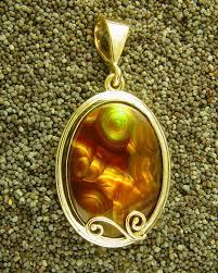 jewelry metals yellow gold pendant
