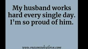Proud Of My Husband Quotes Wonderful Husband Quotes