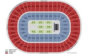 Little Caesars Arena Seating Chart Seat Number Little Caesars Arena Seating Chart