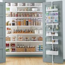 elfa utility White Mesh Pantry Door & Wall Rack