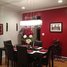 red dining room decor decoration for home