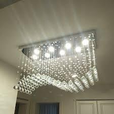 moooni modern crystal chandelier lighting wave ceiling light 5