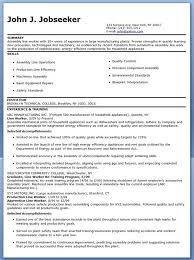 Ideas Collection Sample Resume For Assembly Line Worker In Form