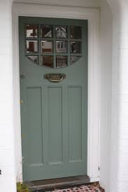 1920s 1930s front door with beveled clear glass in south
