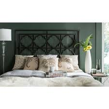 Safavieh Silva Gunmetal Queen Headboard