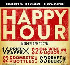 Visit Annapolis Happy Hour At Rams Head Tavern
