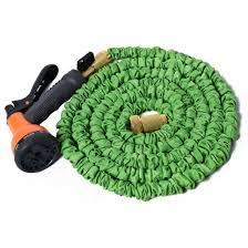 flexible garden hose. Flexible Garden Water Hose Expandable Spray Nozzle Pipe Copper 25 50 75 100 FT