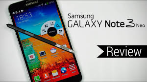 Samsung Galaxy Note 3 Neo Review - YouTube