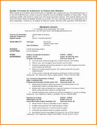 Quick Resume Builder Free Resume Builder Usa Jobs Fungramco 61