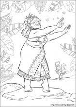 Moana Coloring Pages On Coloring Bookinfo