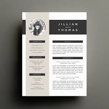 Pretty Resume Template 2 Cool Creative Resume Template And Cover Letter Template For Word DIY