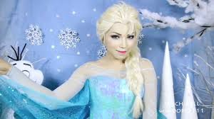 elsa from frozen wig by axel for dope2111 makeup tutorial preview you you dope2111 she anna