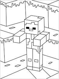 Minecraft Kleurplaat 5 Topkleurplaatnl Topkleurplaat