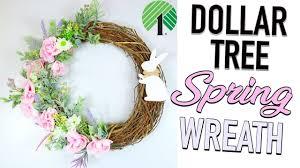 dollar tree diy gorgeous 1 spring door wreath sensational finds