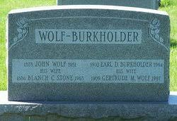 Gertrude May Wolf Burkholder (1909-1997) - Find A Grave Memorial