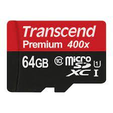 Thẻ nhớ Transcend Micro SDHC 16GB class 10 UHS-I 60mb/s, The nho Transcend  Micro SDHC 16GB class 10 UHS-I Thế giới thẻ nhớ