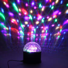 Valentines Best Gift Bluetooth Remote Control Mp3 Crystal Magic Rotating Ball Rgb Disco Light For Home Parties Led Stage Professional Stage Lighting