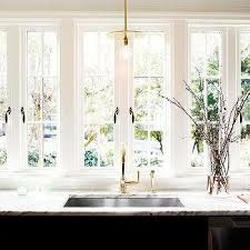 sink windows window french windows kitchen design ideas