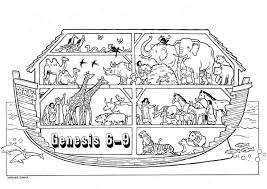 If you would like to download it, right click on see also coloring sheets images below: Free Noah Ark Coloring Pages Gallery And S Page Christian Coloring Bible Coloring Pages Bible For Kids
