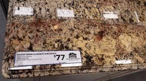 home depot granite countertop samples