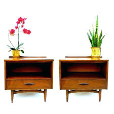 midcentury side table mid century modern accent table pair of for your home
