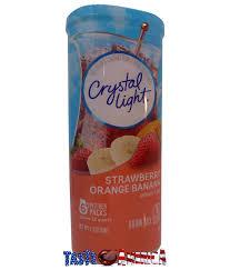 Crystal Light Drink Mix Strawberry Orange Banana Details About Crystal Light Strawberry Orange Banana Drink Mix Makes 12 Quarts 68g