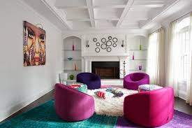Pink Rugs For Living Room Interior Decoration Beautiful Living Room With Art Deco Design