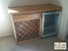 built in wine fridge. Built In Wine Fridge Cooler Cabinet Custom Rack With .