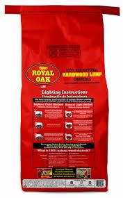 Lighting Royal Oak Charcoal Royal Oak Lump Charcoal All Natural Hardwood Charcoal 15 4