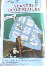 Jack Dempsey Quilt Blocks & Tops | eBay & New Nursery Quilt Blocks Children's Zoo Stamped for Cross Stitch &  Embroidery Adamdwight.com