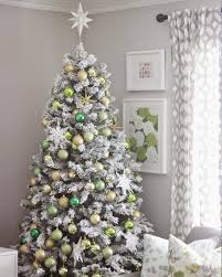 Frosty Flocked Christmas Tree | Treetopia