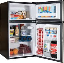compact refrigerator from haier haier hc31tg42sv door view haier hc31tg42sv shown stocked