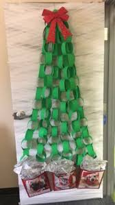 office door christmas decorations. Easy And Cheap Door Christmas Tree! Decorations, Easy, Cheap, Perfect For Office Decorations