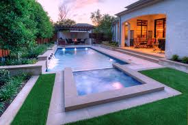 Geometric Swimming Pool Designs Rectangular Pool Designs And Shapes