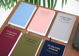 iconic design essay book v sticker stack essay book v 6