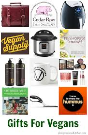 gifts for vegans and plant powered gift ideas plantpoweredkitchen