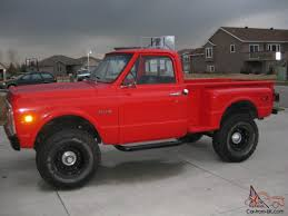 Chevy step side 4x4 four speed
