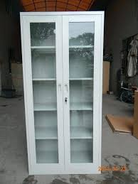 sliding glass cabinet door track with doors innovative storage and drawers office inside cabinets prepare