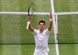 Novak Djokovic ...