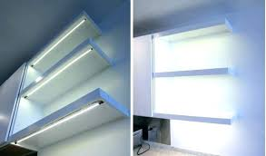 Floating Shelves With Built In Led Lights Classy Wondeful Floating Shelves With Led Lights J32 Floating Shelves