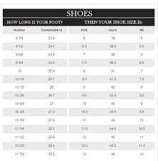 Baby Shoe Sizes Chart Images Online